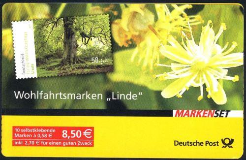 93 MH Wohlfahrt Bäume Linde 2013, Erstverwendungsstempel Bonn