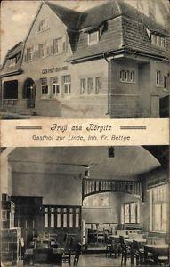 Ak Börgitz Stendal in Sachsen Anhalt, Gasthof zur Linde, Inh. Fr.... - 10048796