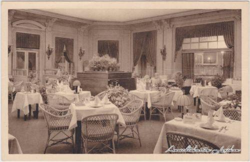 Ansichtskarte Wien Zur Linde und Lindenkeller - Speisesaal 1930