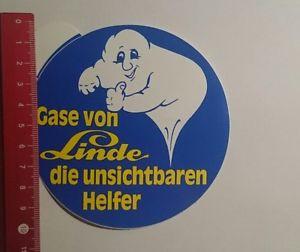 Aufkleber/Sticker: Gase von Linde die unsichtbaren Helfer (10111688)
