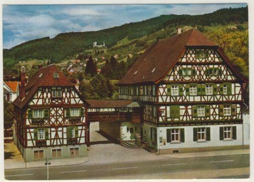 AK _ Hotel Obere Linde in Oberkirch im Schwarzwald _ad431