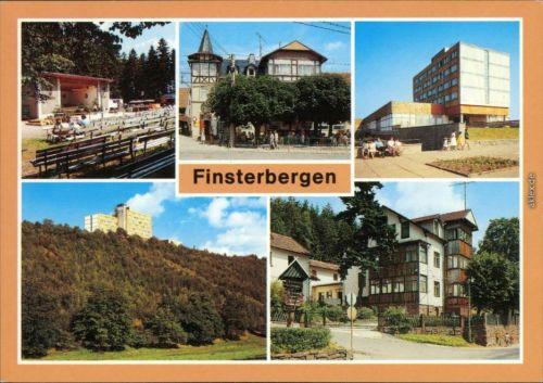 "Finsterbergen Friedrichroda Naturpark Hüllrod, Hotel ""Zur Linde Pieck"",  "" 1990"