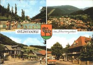 41461936 Sitzendorf Thueringen Schwimmbad FDGB-Erholungsheim Hotel Zur Linde Sit