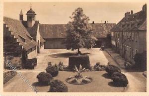 39105442 - Schloss Bauschlott bei Pforzheim. Schlosshof mit Linde. Grossherzogin