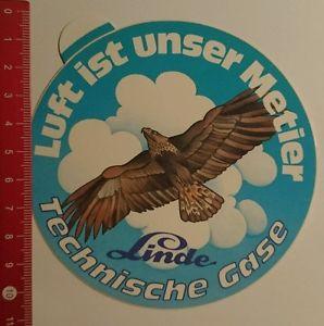 Aufkleber/Sticker: Linde Technische Gase Luft ist unser Metier (160816187)