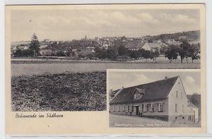 69269 Ak Gruß aus Bräunrode im Südharz Gasthof zur Linde um 1940