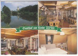 """Klapp - Ak HETZENBACH / Bayer.Wald   """"Gasthof zur Linde""""  ( .. 73  135 )"""
