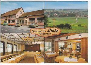 Ak  GÖGGINGEN    Gasthof zur  LINDE   ( .. 48 438 ) N