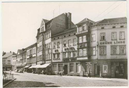 AK_ Mühlhausen in Thüringen - HO Gaststätte Grüne Linde _ZA814