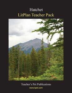 NEW Litplan Teacher Pack: Hatchet by Barbara M. Linde Paperback Book (English) F