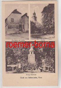 79634 Mehrbild Ak Gruß aus Schenda Harz Gasthaus zur Linde usw. um 1920