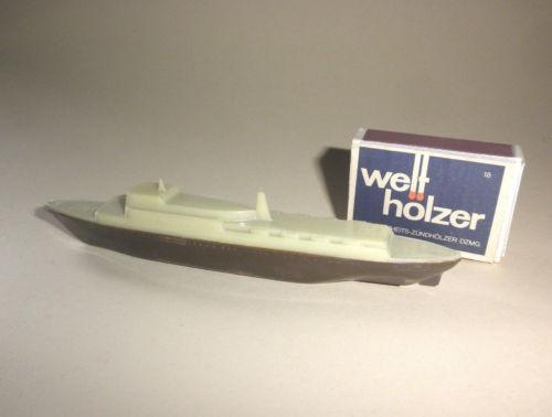 DAMPFER Kreuzfahrtschiff Linde Titze Kaffeebeigabe ? Oceanliner toyfigures ship