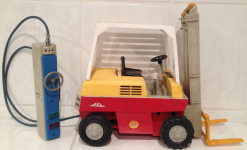 Linde Gama  forklift truck fork lift with control line extreme rarity!!!