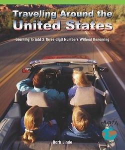 NEW Traveling Around the Us by Barbara Linde Paperback Book (English) Free Shipp