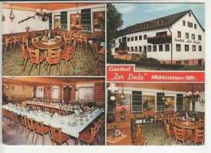 """Ak  MÜHLSTETTEN /Mfr.   Gasthof  """"Zur Linde""""   (.. 28 124)"""