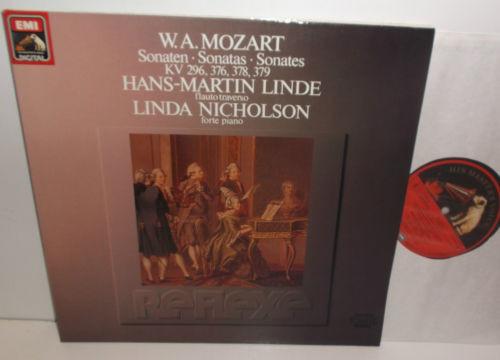 EL 27 0548 1 Mozart Sonatas For Piano And Violin (Flute) Hans-Martin Linde