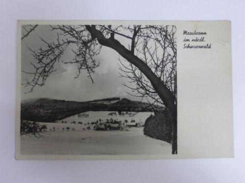 AK Foto Moosbronn im nördlichen Schwarzwald, Gasthof und Pension zur Linde