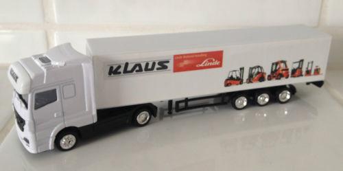 MERCEDES lorry Linde dealer KLAUS forklift fork lift truck