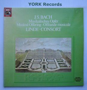 EL 29 0341 1 - BACH - Musical Offering LINDE-CONSORT - Excellent Con LP Record