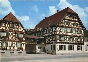 72592749 Oberkirch Baden Hotel Obere Linde Fachwerkhaus Oberkirch