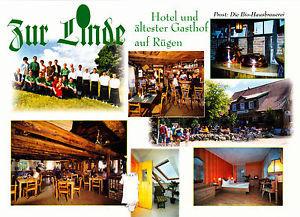Landgasthof Zur Linde , Middelhagen / Rügen ; ungelaufene AK