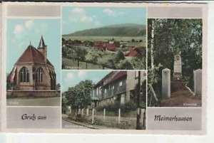 Ak  Gruß aus  MEIMERHAUSEN   u.a. Gasthaus zur LINDE    (.. 18 787)