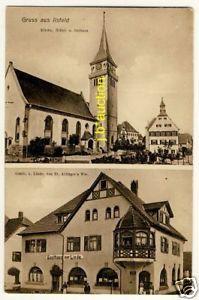 ILSFELD Gasthaus zur Linde / Aldinger * AK um 1910