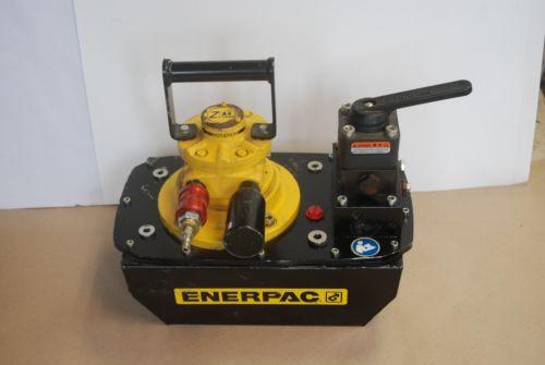ENERPAC ZA4608MX AIR DRIVEN HYDRAULIC PUMP 10000PSI 3WAY 3POS VALVE VM33L
