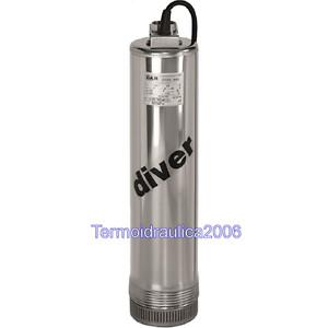 "DAB 4"" Peripheral Submersible Pump DIVER100 M 0,75KW 1X230V Z1"