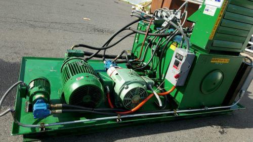 FAC Hydraulic Pump Unit 40 HP, 30 HP, 1.5 HP 300 psi