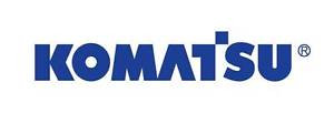 "(2 ) Komatsu d20 d21 d30 vinyl decal - any color - 28"""