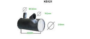 KOMATSU PC130-6 EXHAUST SILENCER   BRAND NEW