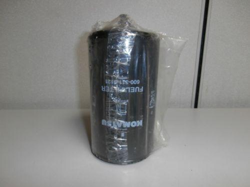 New Genuine Komatsu 600-311-9121 Fuel Filter Element *NOS*