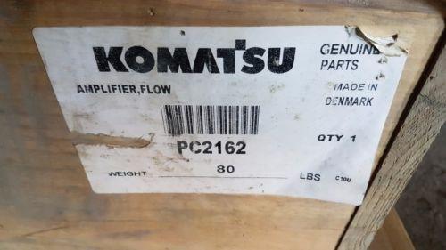New Komatsu Flow Amplifier PC2162 Made in Denmark