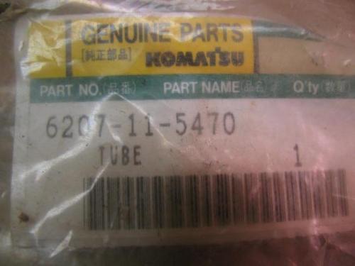 NOS Komatsu 6207-11-5470 Tube Muffler Drain