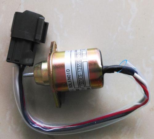 12V Shut off solenoid 1503ES-12S5SUC12S for YANMAR,Komatsu Kubota