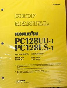 Komatsu Service PC128US-1, PC128UU-1 Shop Manual