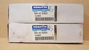 Komatsu 569-43-83920 Filter (Qty 2)