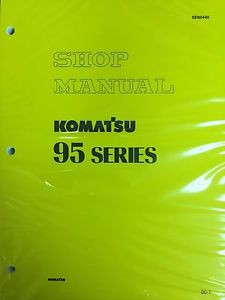 Komatsu 95 Series Engine Factory Shop Service Repair Manual