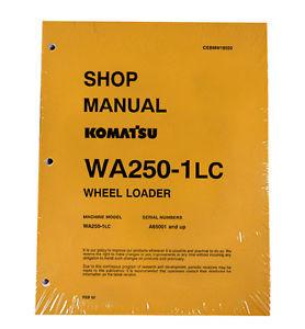 Komatsu WA250-1LC Wheel Loader Service Manual