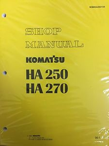 Komatsu HA250 HA270 Shop Service Manual Articulated Dump Truck