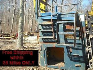 Komatsu PC400 Excavator 4 ft Cab Riser/Platform Material Handler Scrap/Logging