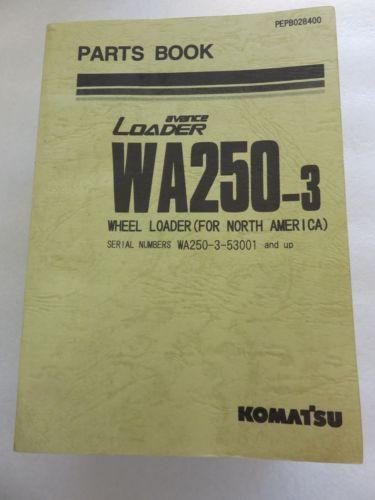 Komatsu - WA250-3 - Wheel Loader Parts Book Manual PEPB028400
