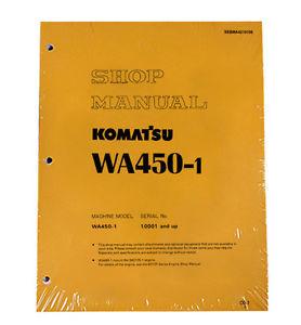Komatsu WA450-1, WA450-1L Loader Service Repair Manual