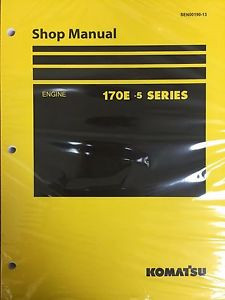 Komatsu 170E-5 Series Engine Factory Shop Service Repair Manual