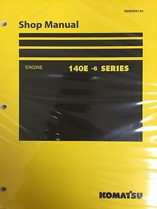 Komatsu 140e-6 Series Engine Factory Shop Service Repair Manual