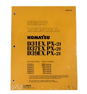 Komatsu D31EX Dozer Service Manual
