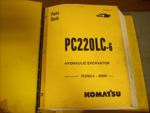 Komatsu Parts Book PC200LC-6