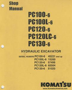 Komatsu Hyd Exc Shop Manual-PC100/120/130