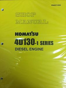 Komatsu 4D130-1 Series Engine Factory Shop Service Repair Manual